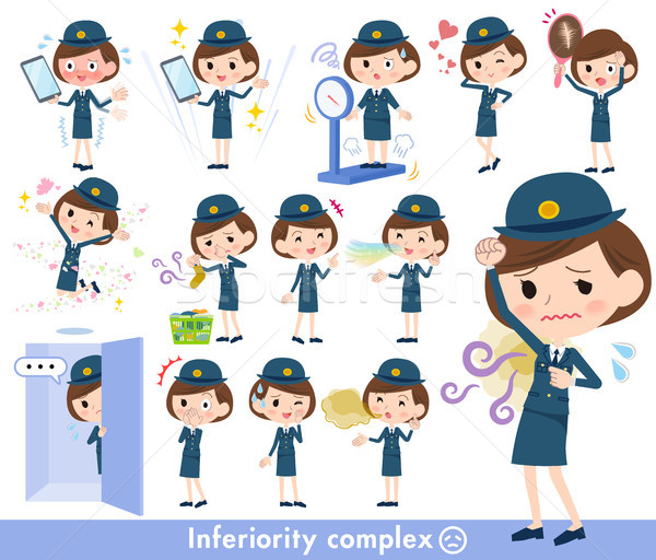 police Women_complex Stock photo © toyotoyo