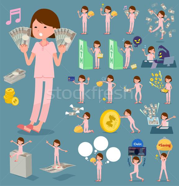 Tipo paciente establecer mujeres compras Foto stock © toyotoyo