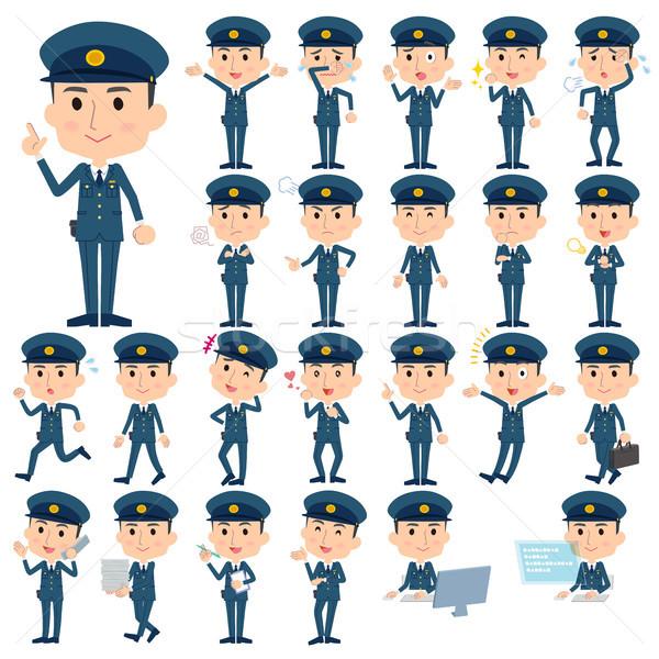 police men Stock photo © toyotoyo