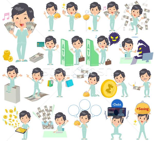 patient man money Stock photo © toyotoyo
