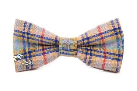 Gentleman geïsoleerd witte partij Stockfoto © traza