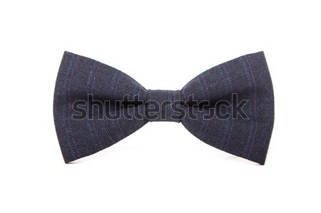 Bow tie accessory for business people on an isolated white backg Stock photo © traza