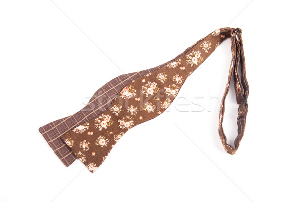Flower colored bow tie isolated on white background Stock photo © traza