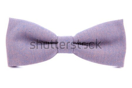 Red bow tie accessory for respectable people on an isolated whit Stock photo © traza