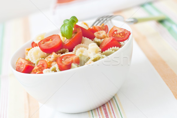 Stock photo: Pasta salad
