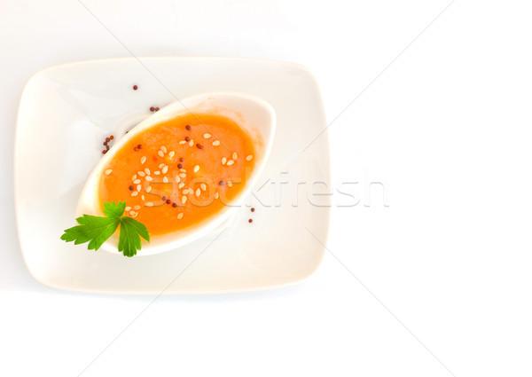 Zdjęcia stock: Zupa · pomidorowa · zimno · zupa · typowy · hiszpanski · krem