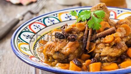 Chicken curry Stock photo © trexec