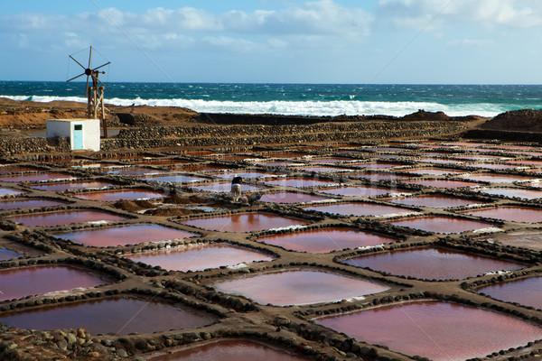 Saltwork Stock photo © trexec