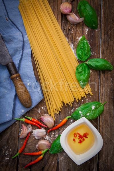Italiaans pasta tortellini ruw japans Stockfoto © trexec