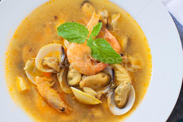 seafood soup Stock photo © trexec