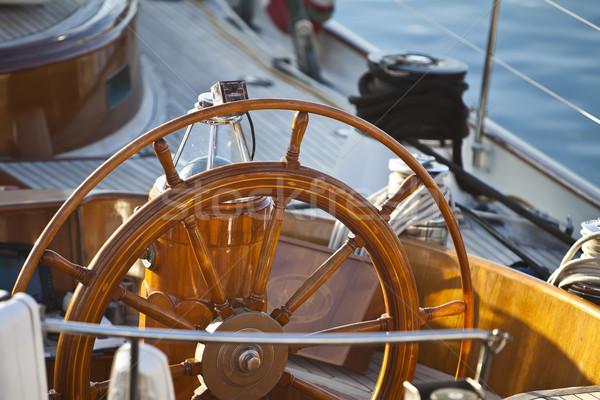 wooden rudder Stock photo © trexec