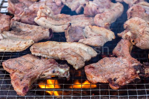 Pork steak Stock photo © trexec