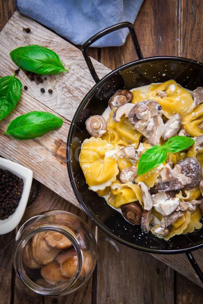 Italiano macarrão tortellini japonês Foto stock © trexec