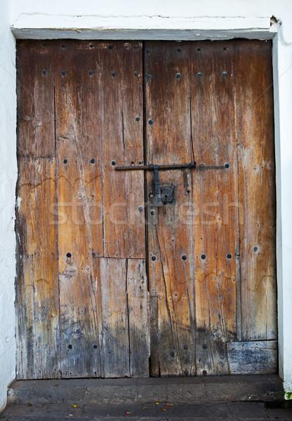 wood door Stock photo © trexec