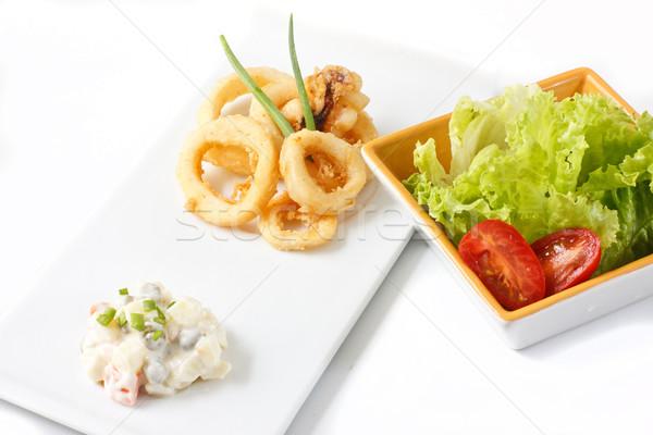 fried calamari Stock photo © trexec