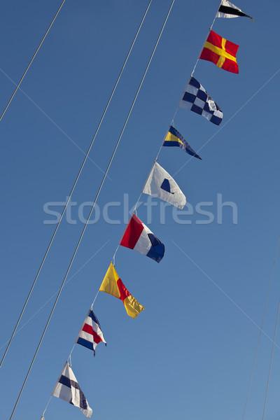 nautical flags Stock photo © trexec