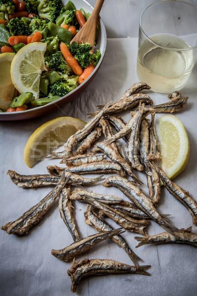 anchovies Stock photo © trexec