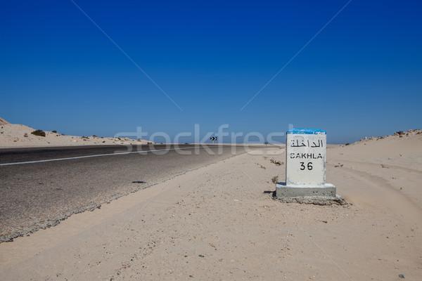 desert road Stock photo © trexec