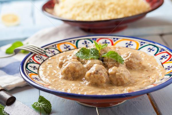 Maroc style Meatballs Stock photo © trexec