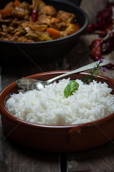 indian food Stock photo © trexec