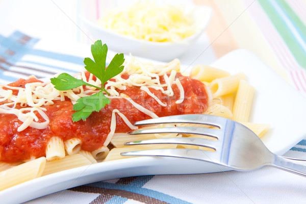 pasta and tomato Stock photo © trexec