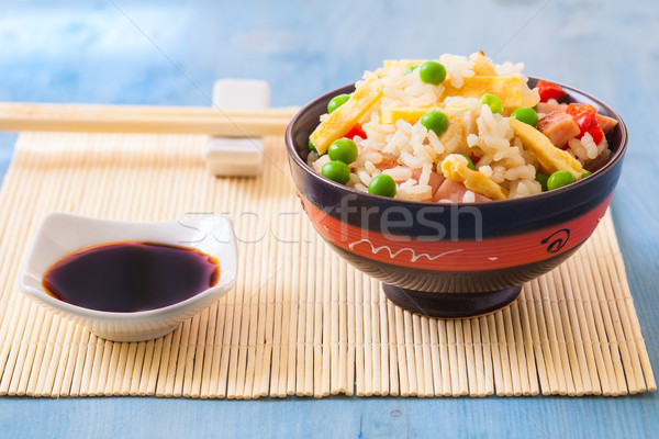 egg fried rice Stock photo © trexec