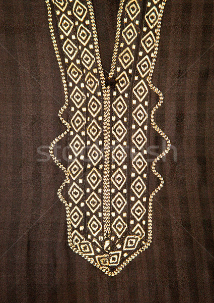 Köntös közelkép nyak vonal fekete szépség Stock fotó © trgowanlock