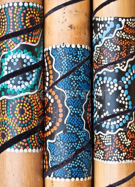 Wooden craft Stock photo © trgowanlock
