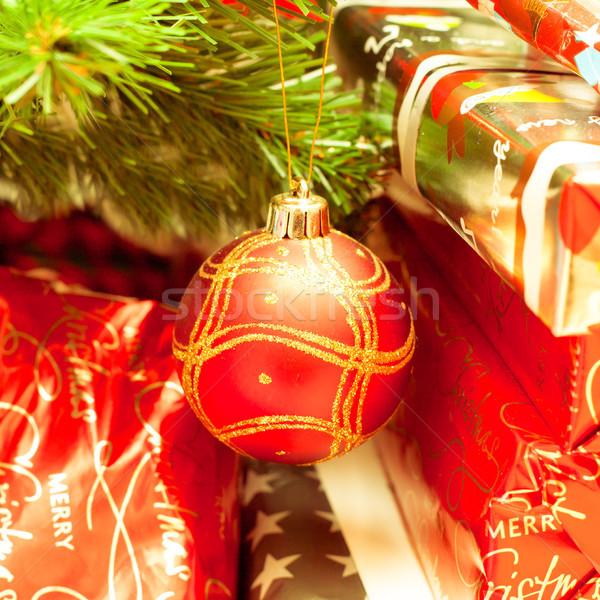Christmas tree Stock photo © trgowanlock