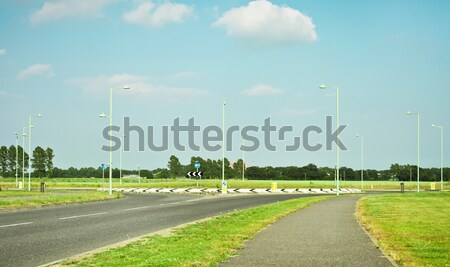 Modern road Stock photo © trgowanlock
