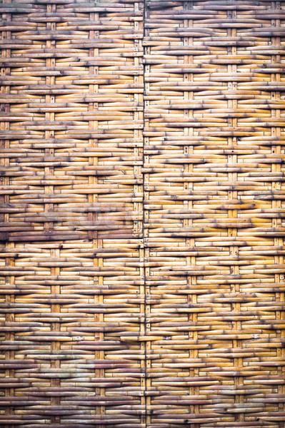 Wicker background Stock photo © trgowanlock