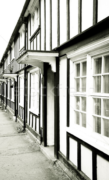Old english houses Stock photo © trgowanlock