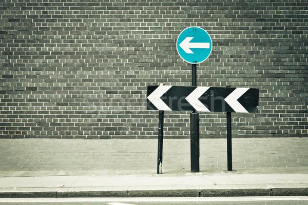 One way Stock photo © trgowanlock