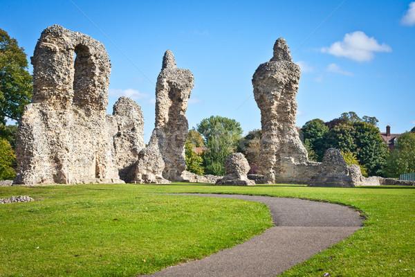 Ancient ruins Stock photo © trgowanlock