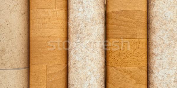 Vinyl flooring Stock photo © trgowanlock