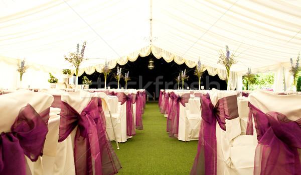 wedding venue Stock photo © trgowanlock
