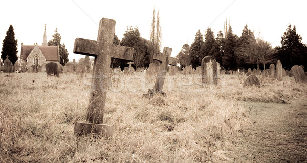 graveyard Stock photo © trgowanlock