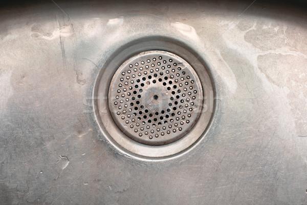 Drain hole Stock photo © trgowanlock