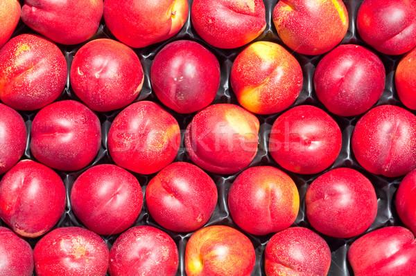 Caisse fraîches nature santé été manger Photo stock © trgowanlock