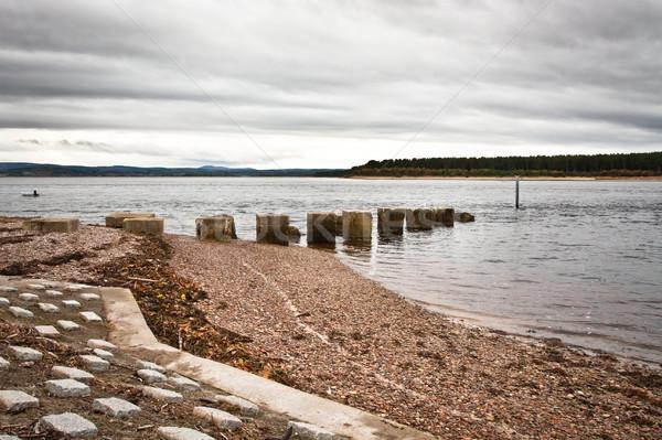 Findhorn Bay Stock photo © trgowanlock