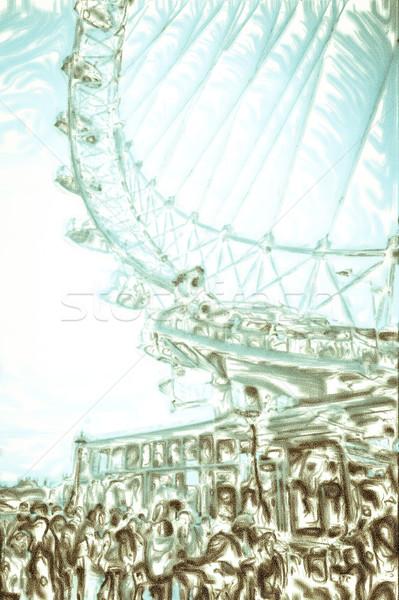 Big wheel Stock photo © trgowanlock