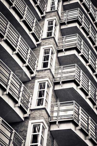 Balconies Stock photo © trgowanlock