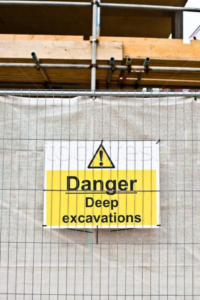 Danger sign Stock photo © trgowanlock