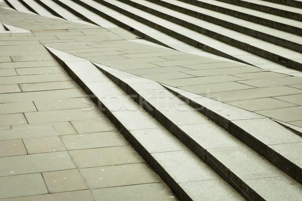 手順 現代 都市 具体的な モノクロ 黒と白の ストックフォト © trgowanlock