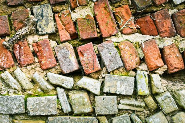 Delapidated wall Stock photo © trgowanlock