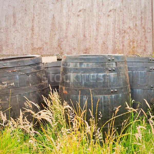 Barrels Stock photo © trgowanlock