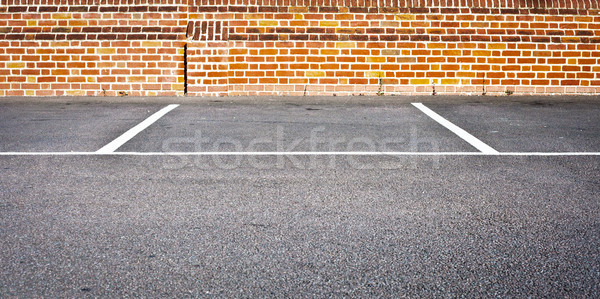 Parking space Stock photo © trgowanlock