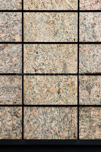 Granit duvar modern sanayi taş temizlemek Stok fotoğraf © trgowanlock