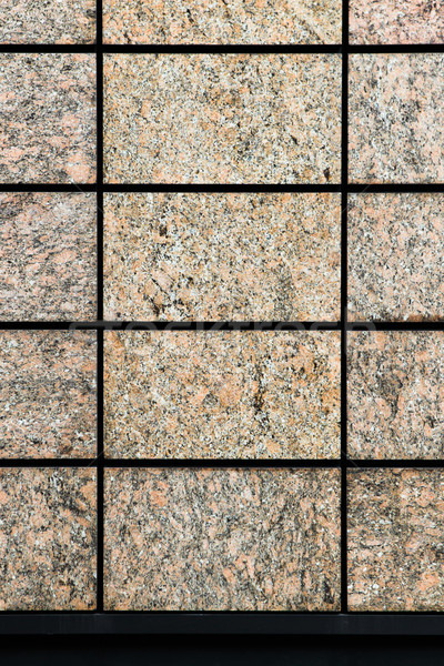 Graniet muur moderne industrie steen schone Stockfoto © trgowanlock