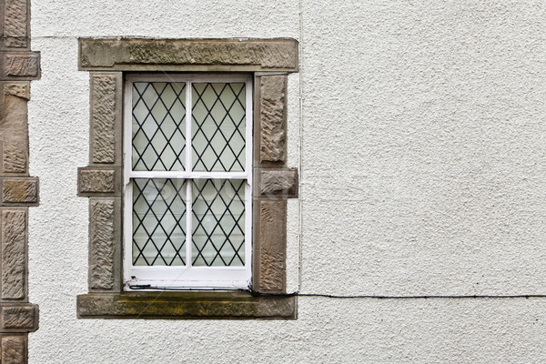 Cottage window Stock photo © trgowanlock